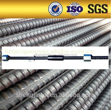 Post Tensioning Screw Thread Steel Bar PC Bar price Factory Concrete Dw15/17 Tie Rod