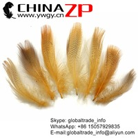ZPDECOR Factory Best Selling Cheap Dyed Yellow Mallard Duck Flank Feathers