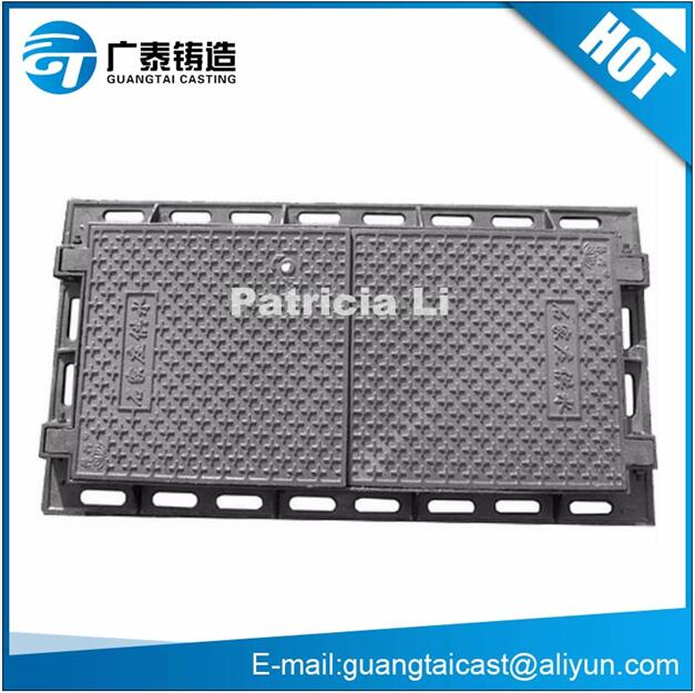 Iron or steel products manhole covers