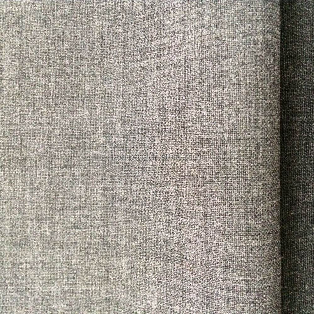 Plain weave wool polyester lycra blend ready fabric