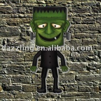 "36"" Halloween Paper Jointed Cutout - Frankenstein"