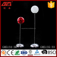 Europe style LED table decoration mini bouncy glass ball for wholesale