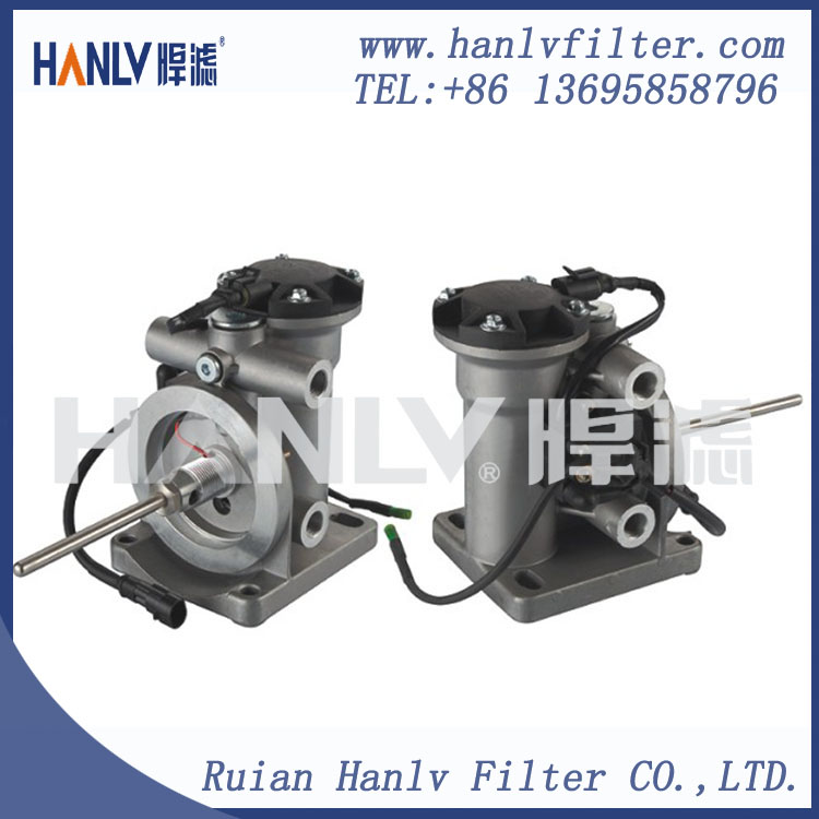 Fuel Filter Seating Automatic pump PL420 and Oil cup and Filter element Double heating(L)