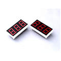 China wholesaler 0.36 inch Red color 7 segment 3 digit common cathode led for seven segment led display