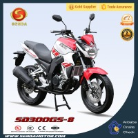 China Manufacture New Motorbike Cheap Racing Sport Motorcycle 200cc For Sale 4 Stroke Engine Motorcycles for Police SD300GS-8