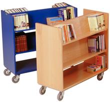 library book cart/moving carts/rolling book cart