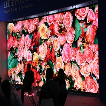 P3.91 Large Seamless Video Wall Indoor Walls LED Large Display screen panels