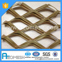 New Design for Hotel Exterior Wall expandable lattice fence/expandable sheet/metal diamond mesh