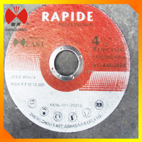 "4.5"" resin bonded abrasive cutting wheel for metal, steel,stone"