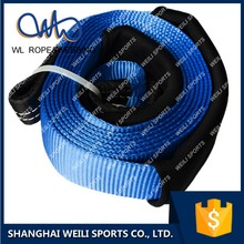 (WL STRAP)ATV recovery tow rope, stretch towing strap