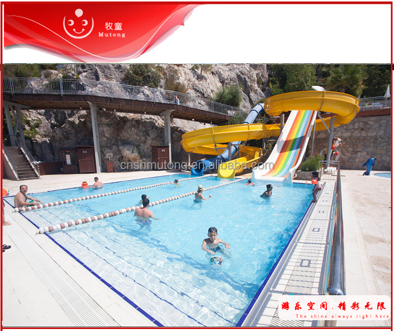 Water Park Aquatic Attraction For Municipal Swimming Pool