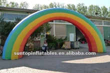most popular inflatable rainbow wedding arch with good price