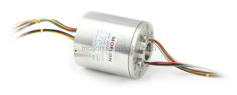 MT025 series size 25.4mm OD86mm, through hole slip ring electric swivel slip ring metal hole reinforcing ring