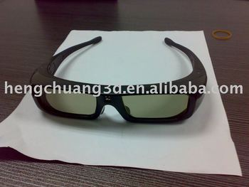 active 3D TV glasses for Sony/Samsung