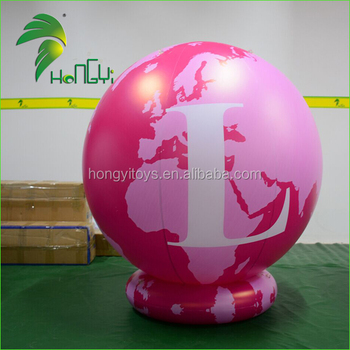 Advertising Customized Floating Beach Ball / Guangzhou Beach Ball Popping Balloon From Hongyi Toy