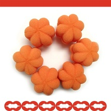 Pumpkin Shape Hair Styling Curler Sponges/ hair roller Foam sponge