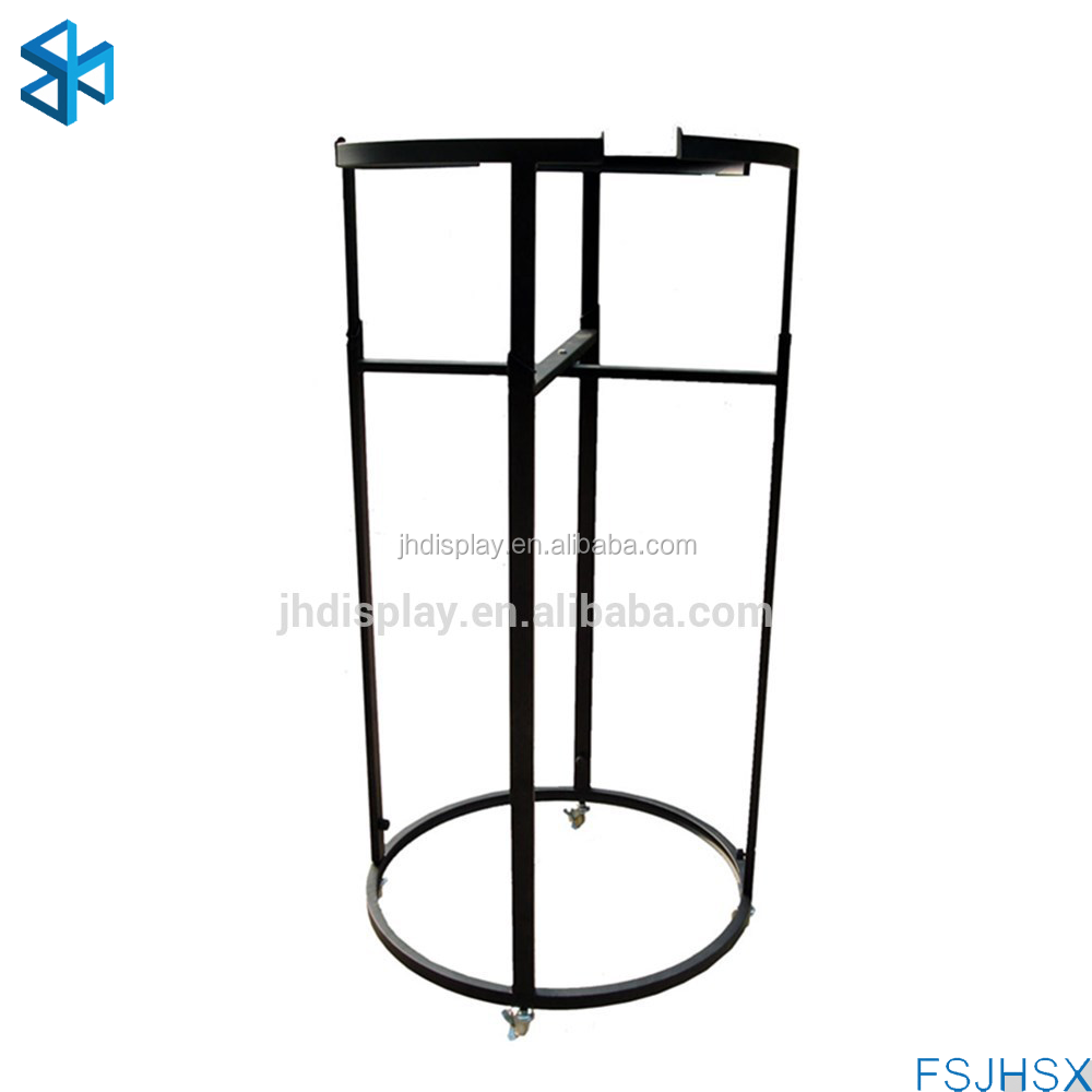 Round hanging clothes drying rack / used clothing rack for sale /clothes hanging stand