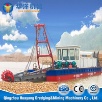14inch Dredging Barge for sale ,cutter sucion dredger