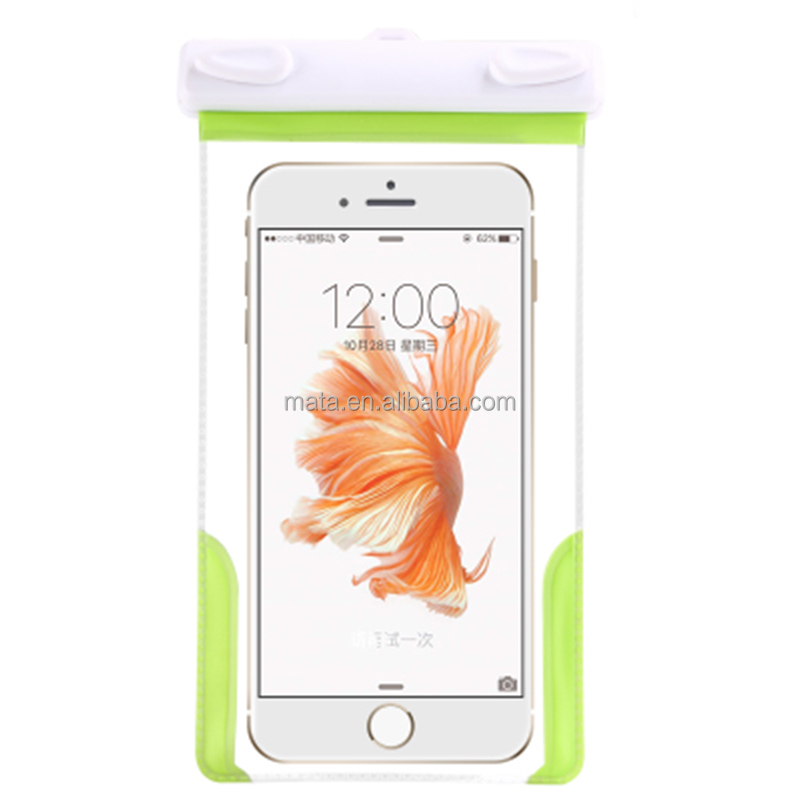 Good Price Waterproof Case, Pouch, Perfect for Rafting, Swimming, Fishing, Skiing (up to 6' inch)