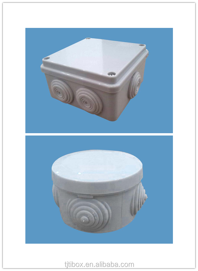 IP66 Protection Level and plastic Distribution Box Type waterproof ABS electrical circuit breaker box