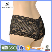 beautiful black new arrival custom service hot lace new style bra and panty