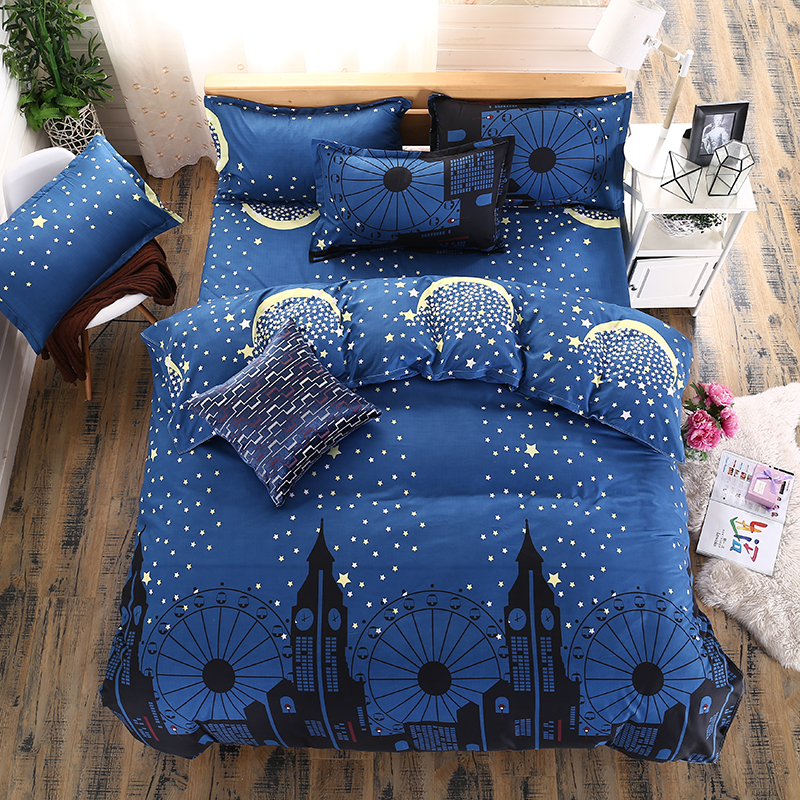 Nice designs new arrival bed sheet polyester bed linen sheets bed american bedding <strong>sets</strong>