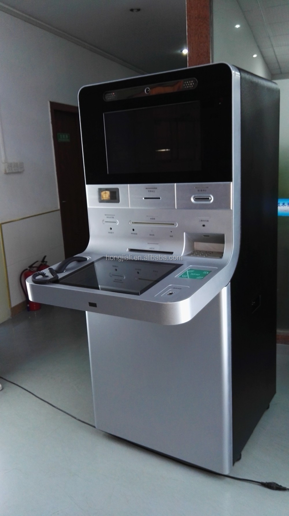 VTM & ATM machine payment touch screen kiosk