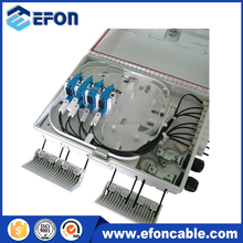 Outdoor SC LC Adapter Fiber Optic Distribute Box come with 1*16 Fiber Optical PLC Splitter