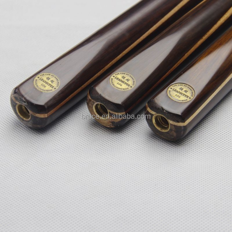 High quality 3/4 Joints woods snooker cue S06