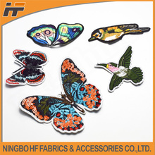 Decorative chinese applique embroidery patches