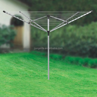4-arms garden/outdoor aluminium rotary washing line airer