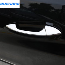 8pcs/set ABS Chrome Car Door Handle Trim For Mercedes Benz GLK/GL/ML/C Class W204 X204 Accessories