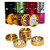4 parts with windows Magnetized CNC metal weed tobacco herb grinder