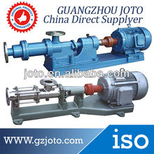 China Made Stainless Steel Three High Viscosity Single Screw Pump