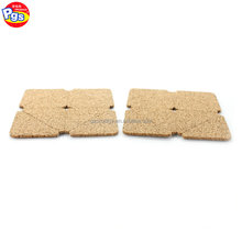 Furniture leg protector adhesive cork flooring pad