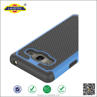 Hot Selling Shockproof Rugged Matte Armour Rigid Plastic Silicone Rubber Hybrid Case Cover skin For Samsung Galaxy On 7