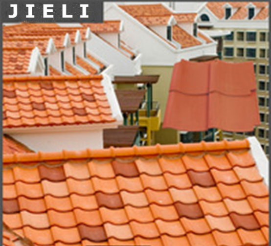 French style roof tiles/ green spanish roof tile /Aging insistance roof tile