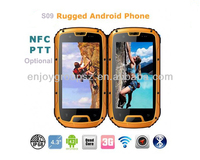 2013 new NFC waterproof mobile phone android 4.2 IP68 quad core military phone