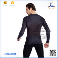 2016 online shopping India plain running fitness clothing compression dry fit white t shirt