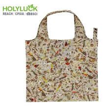 Cartoon High Quality Foldable Shopping Grocery Tote Bag With Custom Print Logo