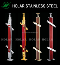 Holar inox 304/316 stainless steel handrail/balustrade/stair railing post