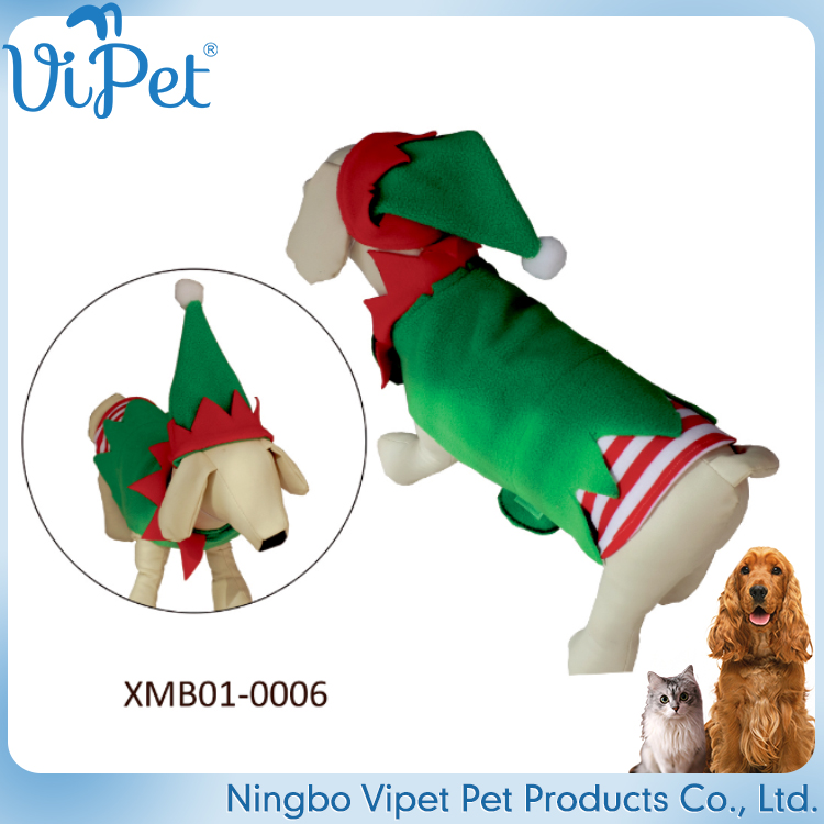 christmas promotional various durable using dog clothes costume