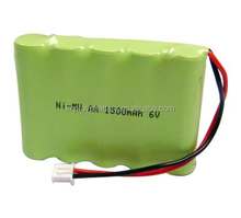 6V Types NiMH Rechargeable Battery Pack
