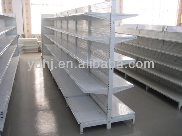 good quality gondola supermarket shelf bracket with ISO&CE