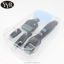 YYR OEM service face derma roller micro needling for acne scars