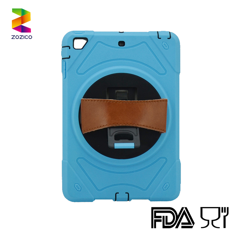 Manufactured Hybrid Case for iPad mini 1 2 3 cover with integrated ABS stand Case