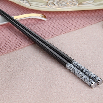 high quality stainless steel chopsticks health and popular
