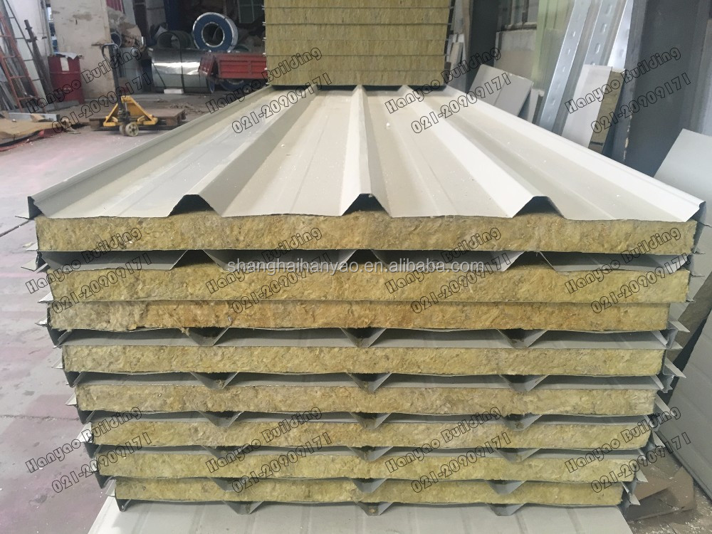 Qingdao Supplier Heat Insutlated Light Weight Building Material 50-200Mm Polystyrene Eps Sandwich Panel From China