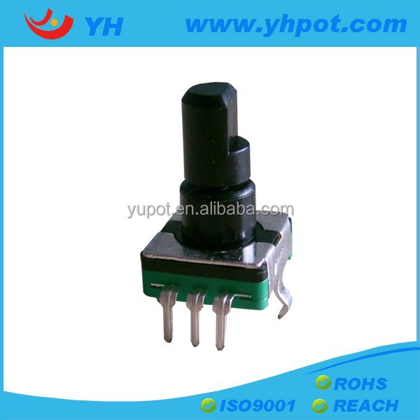 plastic bushing EC11 rotary encoder price low with switch