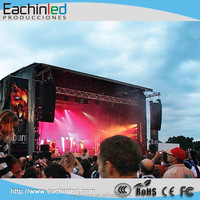 High definition and high brighness ce rohs outdoor led video wall p6